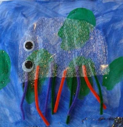 bubblewrap jellyfish