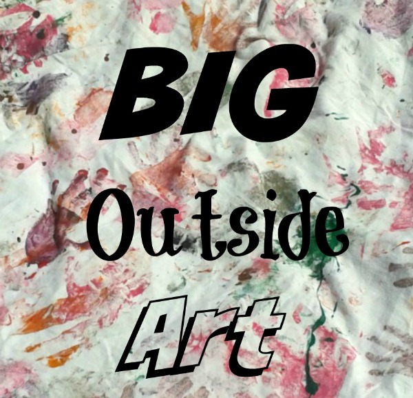 big outside art for kids