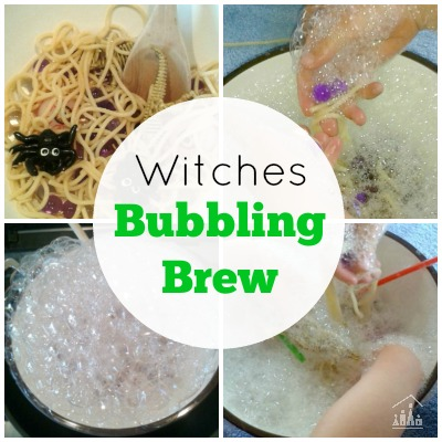 Witches Bubbling Brew Sensory Play for Kids
