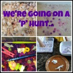 We're going on a 'P' hunt…