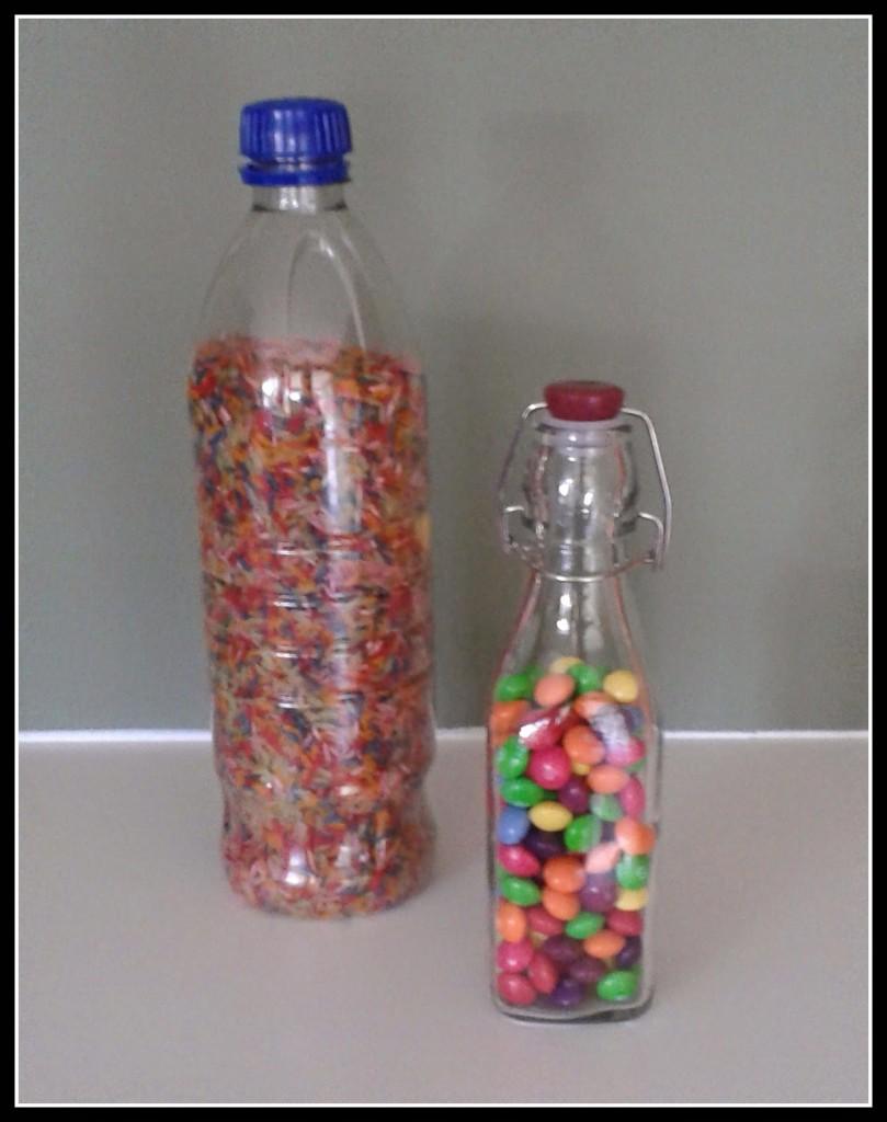 Rainbow I-spy Bottle