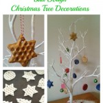 Quirky Bubble Wrap Salt Dough Christmas Tree Decorations