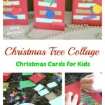 Christmas Tree Cards Made By Kids