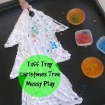 Christmas Tree Messy Play