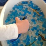 31 Days of Sensory Play – Fine Motor Fishing in Waterbeads