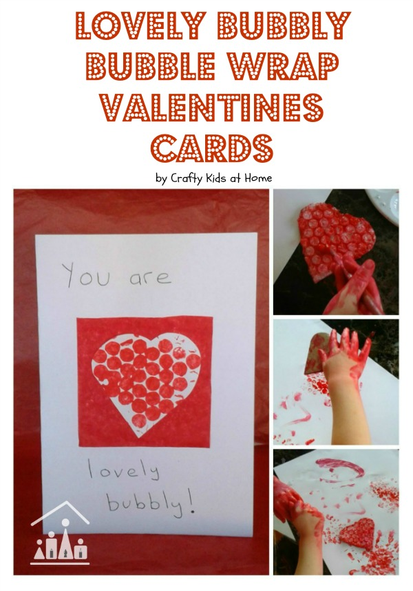 bubble wrap valentines day cards for kids