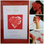 Lovely Bubbly Valentines Day Cards for Kids