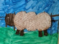 bubble wrap spring lamb