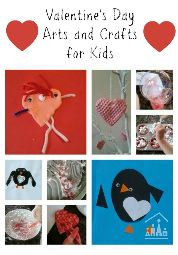 valentines day arts and crafts crafty kids at home. Black Bedroom Furniture Sets. Home Design Ideas