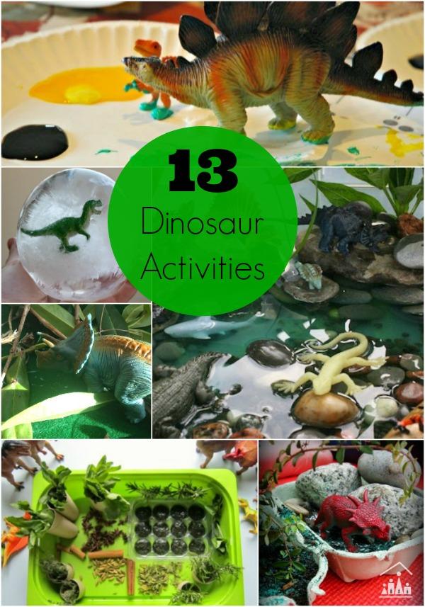 13 dinosaur activities for kids