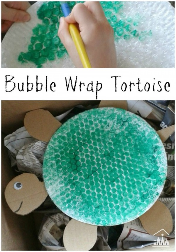 bubble wrap tortoise
