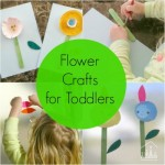 Spring Flower Activities for Toddlers