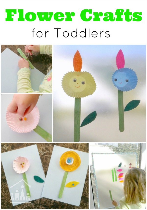 Spring Flower Activities For Toddlers Crafty Kids At Home