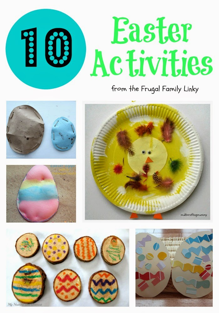 10 Frugal Easter Activities For Kids Crafty Kids At Home