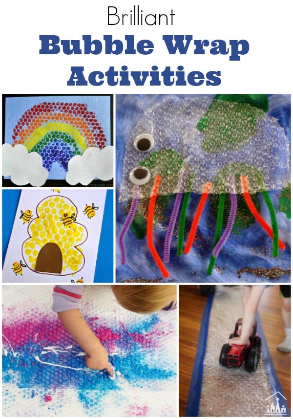 Brilliant Bubble Wrap Activities for Kids