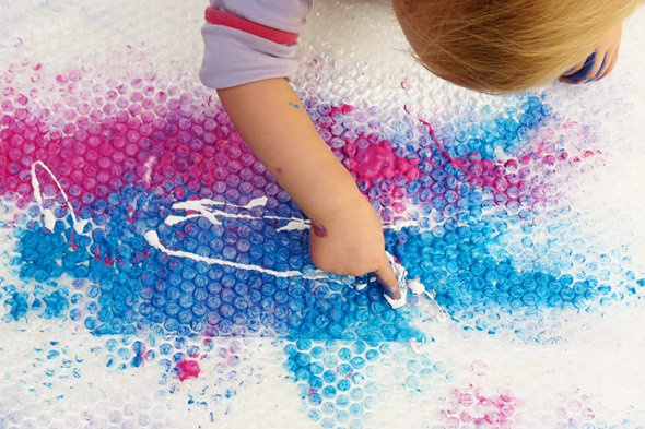 Brilliant Bubble Wrap Crafts For Kids Crafty Kids At Home
