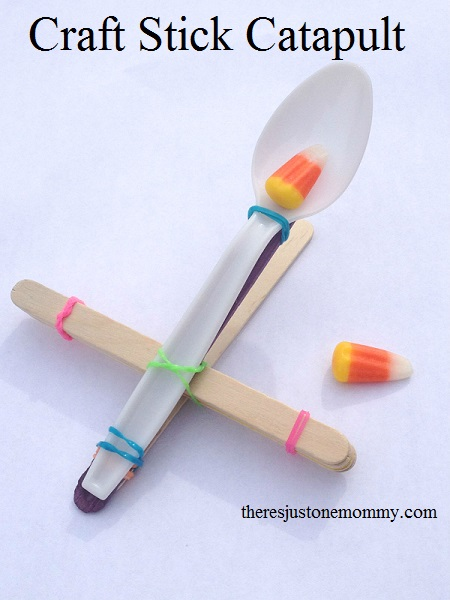 Catapult Craft For Kids: 15 Cool Popsicle Stick Crafts