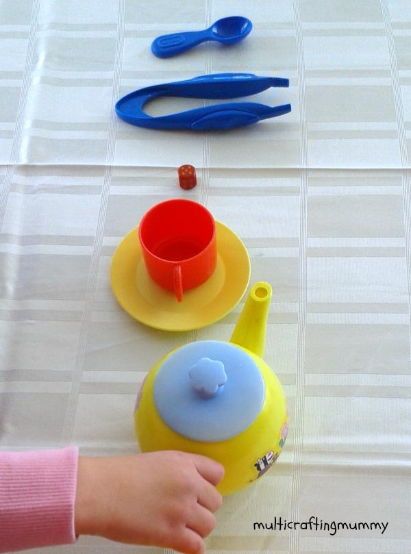 kids pretend tea set