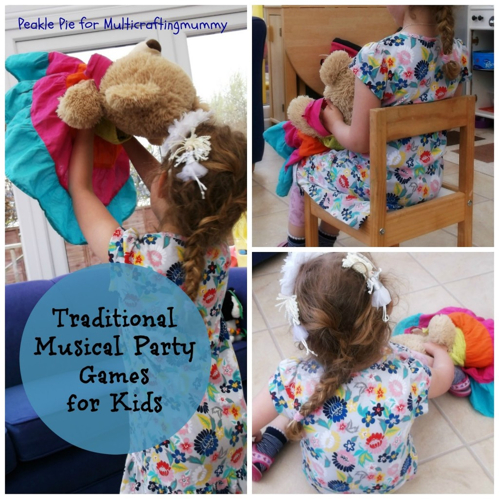 Traditional musical party games for kids