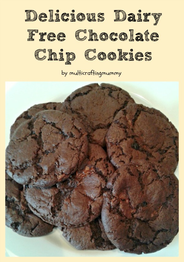 recipe for dairy free chocolate chip cookies
