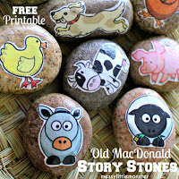 http://www.messylittlemonster.com/2015/05/old-macdonald-farm-animal-story-stones.html