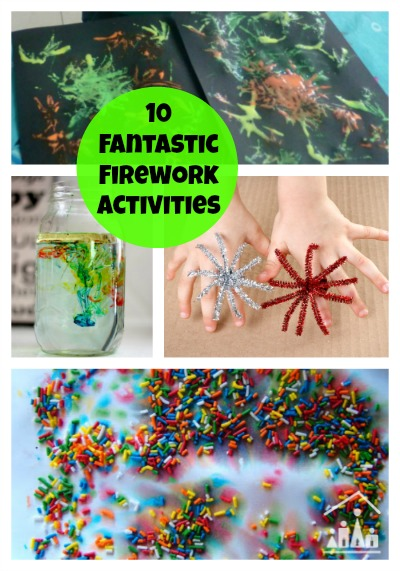 10 fantastic fireworks activities for kids