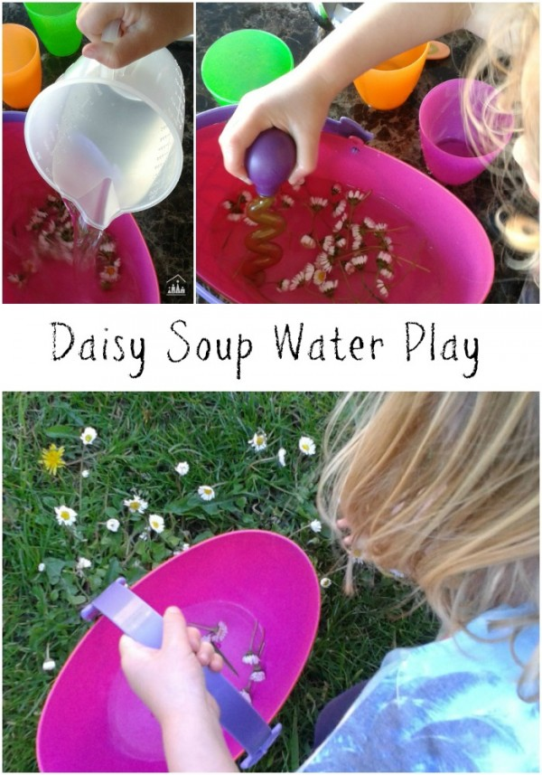 daisy soup watert play