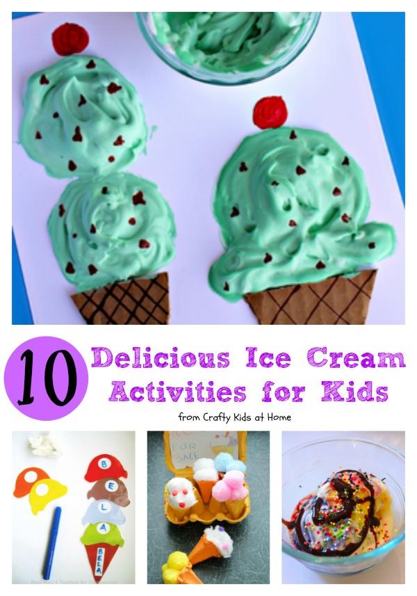 10 delicious ice cream activities for kids