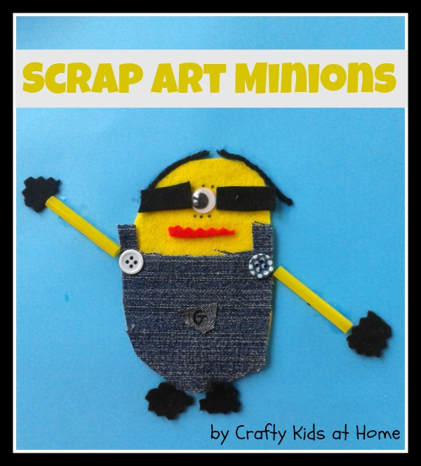 scrap art minions