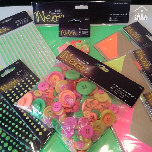 Neon collection from docrafts