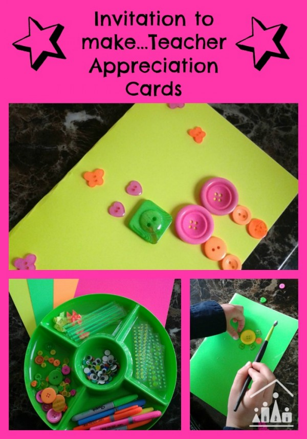 teacher appreication cards