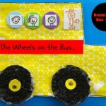 The Wheels on the Bus: Bubblewrap Craft