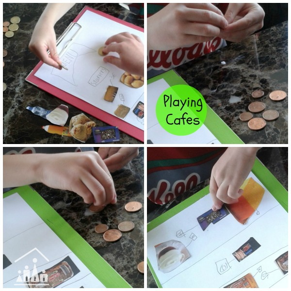 cools maths for kids playing cafes