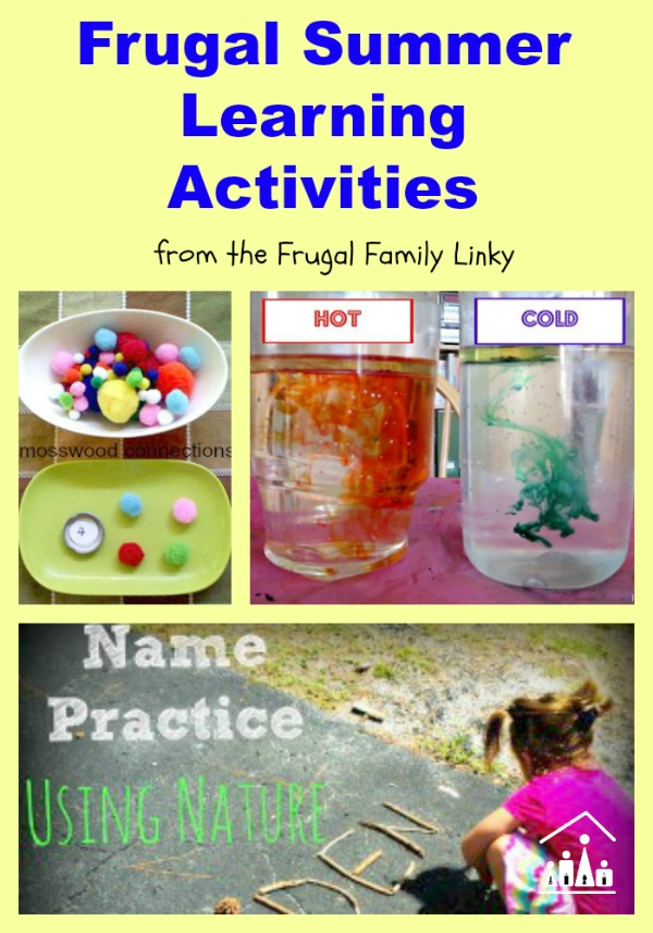 frugal summer learning activities