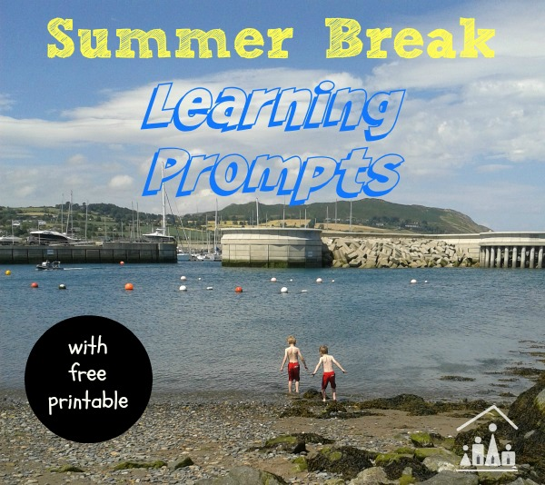 summer learning prompts for kids