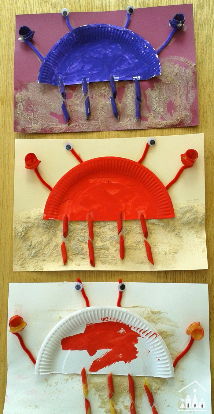 paper plate crabs & Cute Paper Plate Crab - Crafty Kids at Home