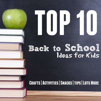 top 10 back to school badge