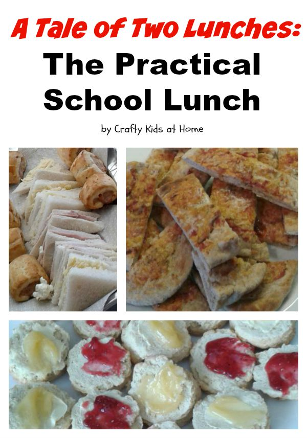 a tale of two school lunches
