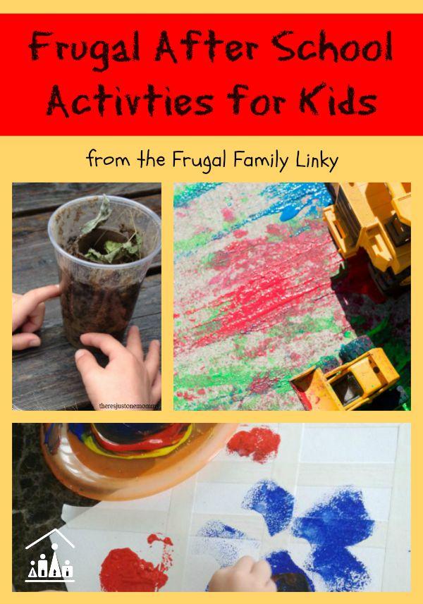 frugal after school activities