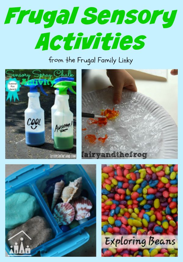 frugal sensory activities
