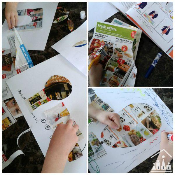 the school of art magazine collage