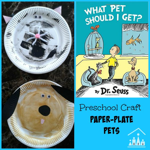 sc 1 st  Crafty Kids at Home & What Pet Should I Get? Preschool Craft