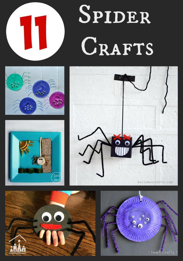 11 spider crafts for kids