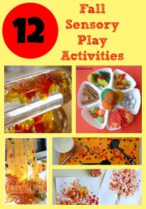 12 Fall Sensory Play Activities