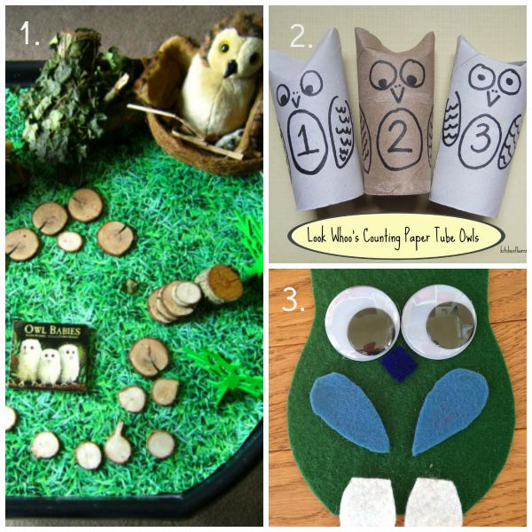 owl activities for kids