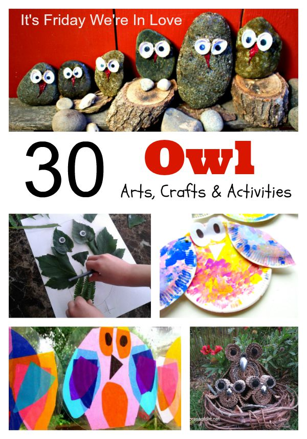 owl arts crafts activities