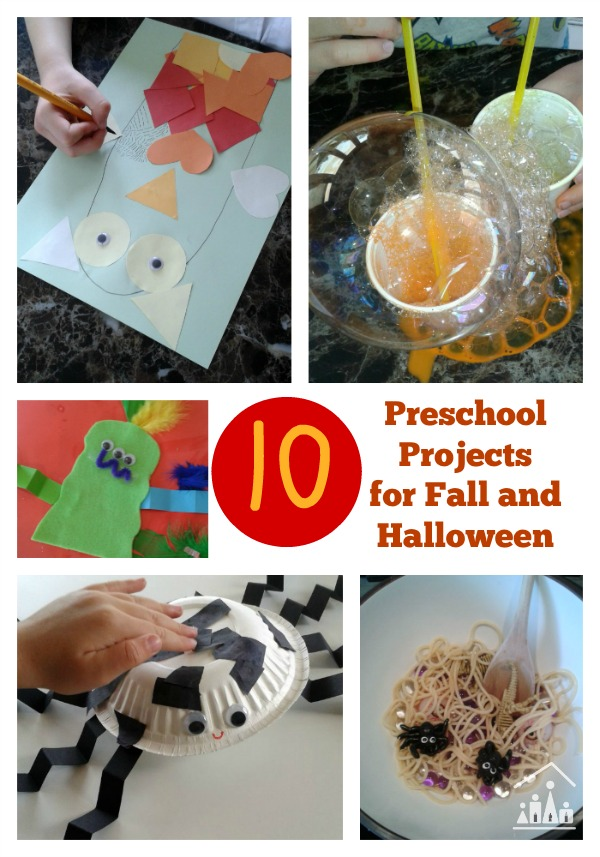 10 preschool projects for fall and halloween