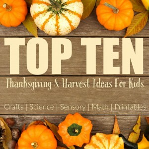 top 10 thanksgiving and harvest ideas for kids