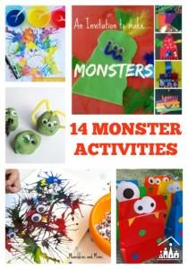 14 monster activities 400