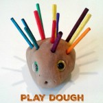 Play Dough Hedgehog Activity
